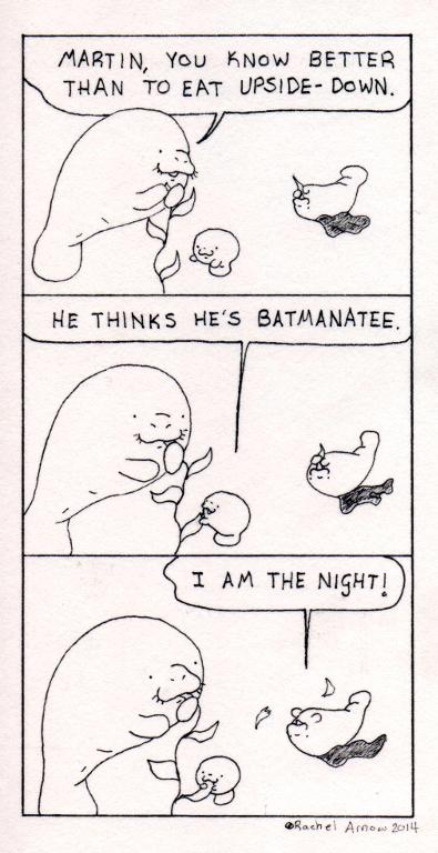 Baby Batmanatee