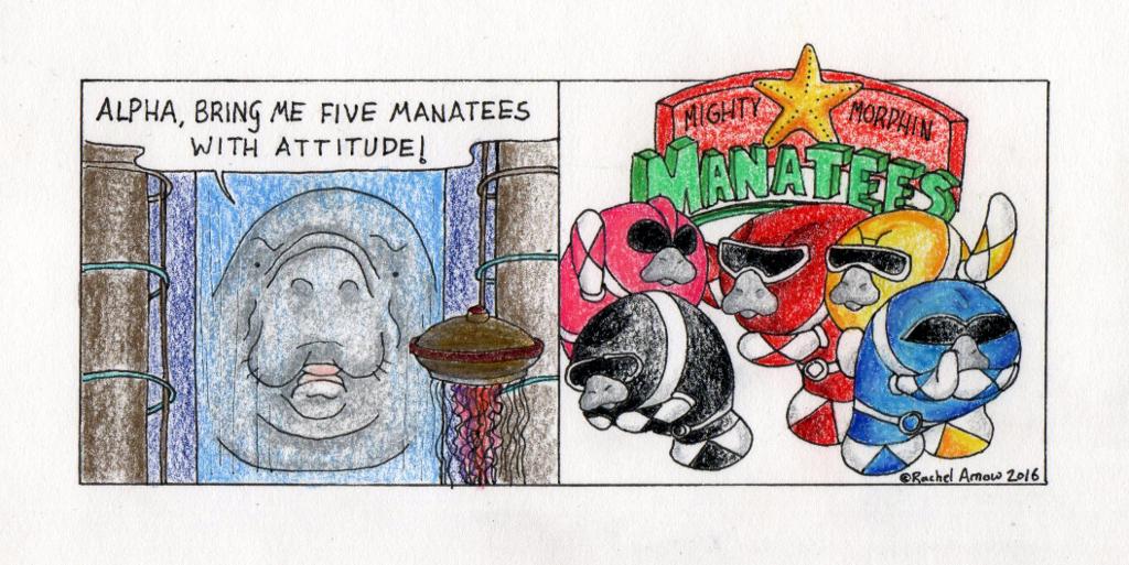 Mighty Morphin Manatees