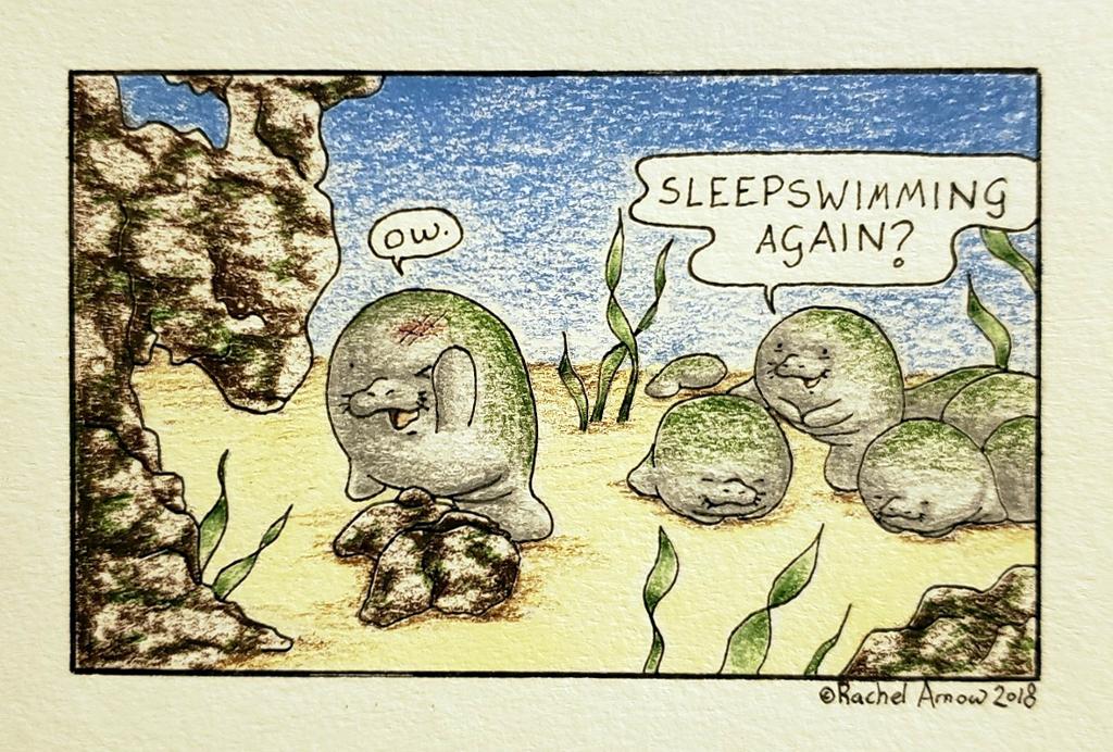 Sleepswimming